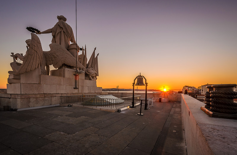 The Shinning Lisbon Bridge at Sunset Photography By Messagez com