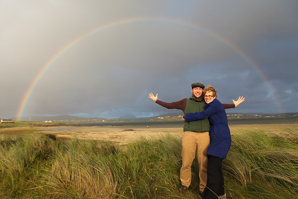 Double Rainbow!, County Donegal, Ireland. Photo courtesy of Andrew Harrer.