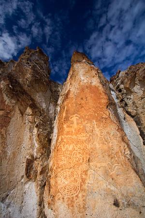 Petroglyphs, Fremont State Park, Sevier County, Utah