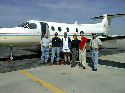 Ready to board our private plane to San Diego for the MP3 Summit.