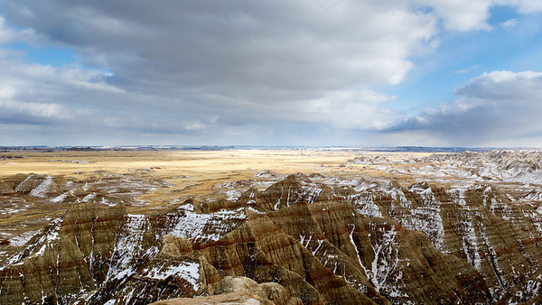 Winter Badlands