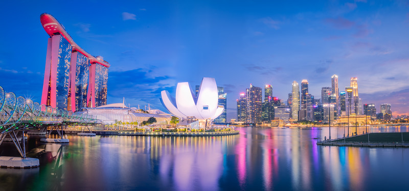 Marina Bay Harbor Pano