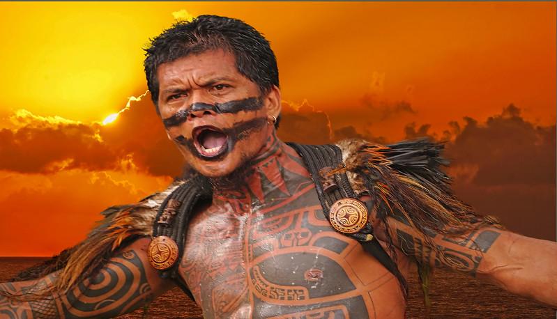 Tahitian Warrior, #1532