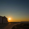 Inside Sagres Fortress at Sunset