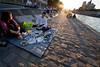 Picnic on the Seine. Paris, Spring