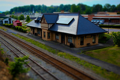 Abingdon Train Station - Abingdon, Virginia