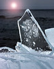 Plate ice on the shores of Lake Superior, near Split Rock Lighthouse, Minnesota. #0049