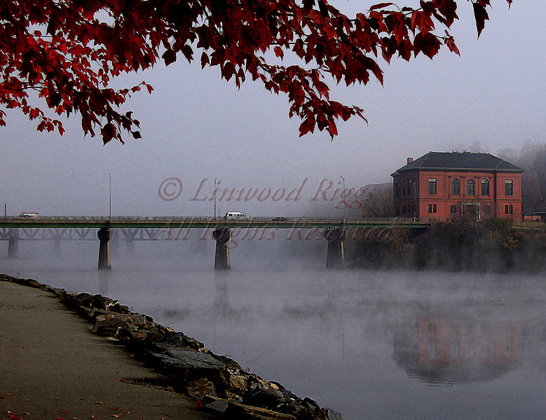 Old City Hall, Augusta, Maine, on the Kennebec River