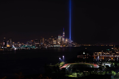 9/11 Memorial Lights 2019