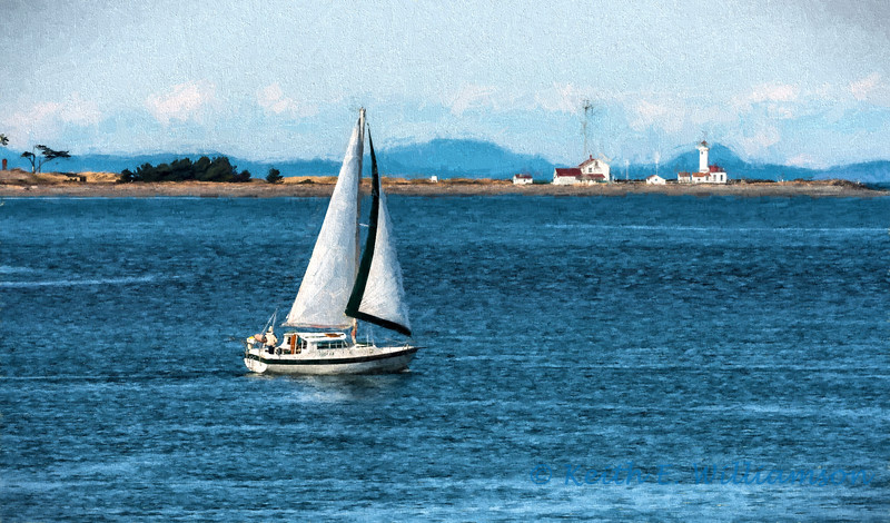 Sailing, Port Townsend, Washington