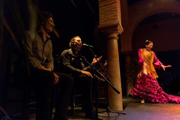 Flamenco at Museo del Baile Flamenco, El Centro, Sevilla