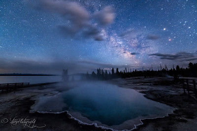 While you were sleeping - Yellowstone NP, 2016
