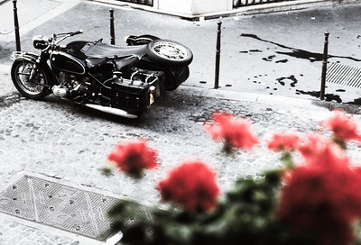 BMW with sidecar