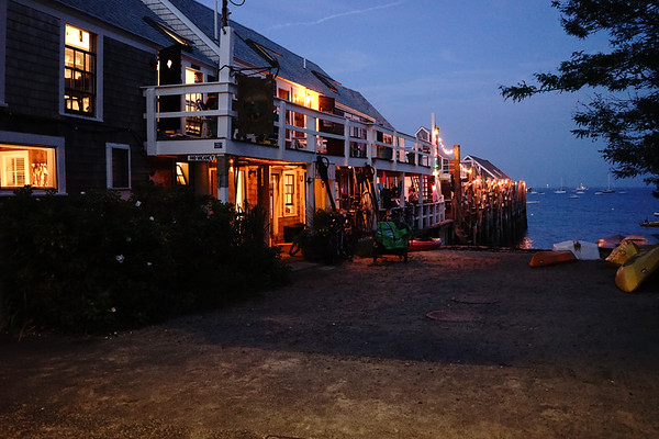 Nightfall in Provincetown