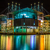 Original Lisbon Oceanarium Night Reflection Photography By Messagez com