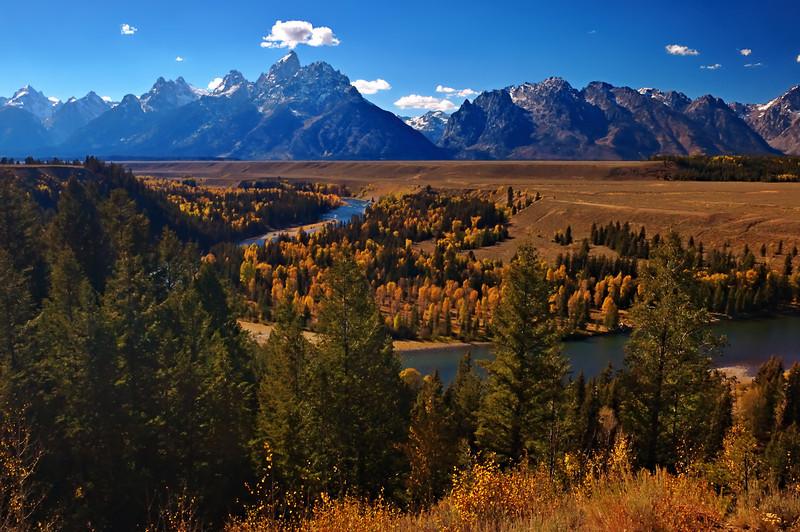 Autumnal Grand Teton Snake River Overlook