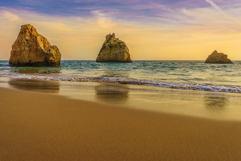 Mystic Beach Trilogy Reflection Photography By Messagez com