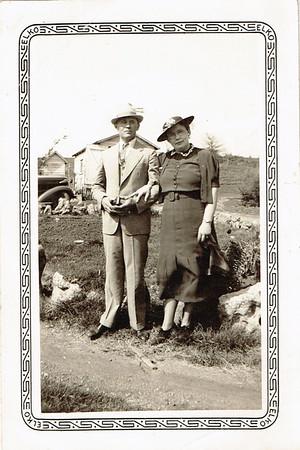 Weding Day, 1934 Farm
