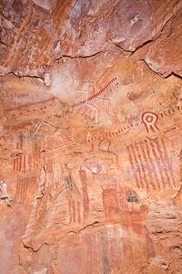 Polychromatic rock art, Desert Archaic, Escalante / Grand Staircase National Monument, Garfield County, Utah (4)