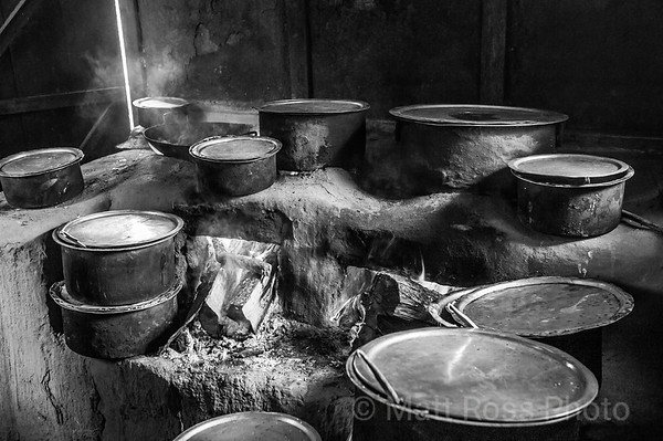 TAKSTANG (TIGER'S NEST MONSTERY), TEA HOUSE KITCHEN