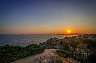 Ponta da Piedade Lagos Sunset