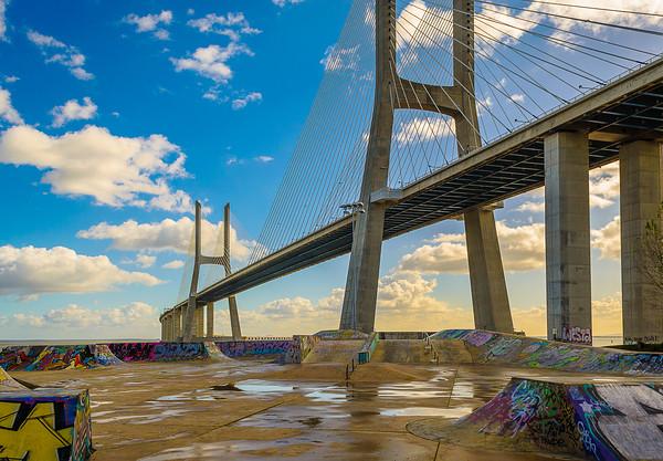 Original Portugal Bridge Art Photography 2 By Messagez com