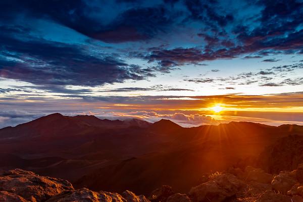 Moonset and Sunrise at Haleakala 14/14