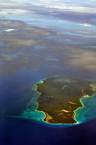 THE ISLAND OF P.R. FROM ABOVE