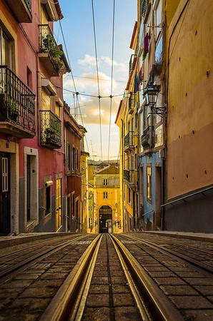 Lisbon Tram Beauty