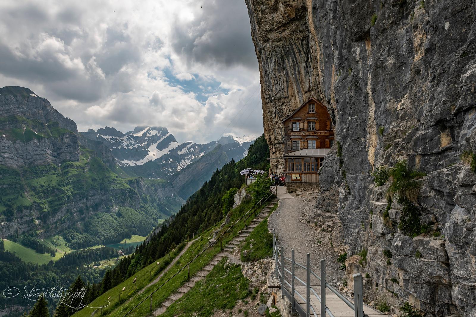 Aescher und Seealpsee, Switzerland 2018