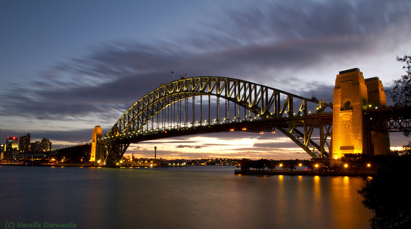 Harbour Bridge - sunset