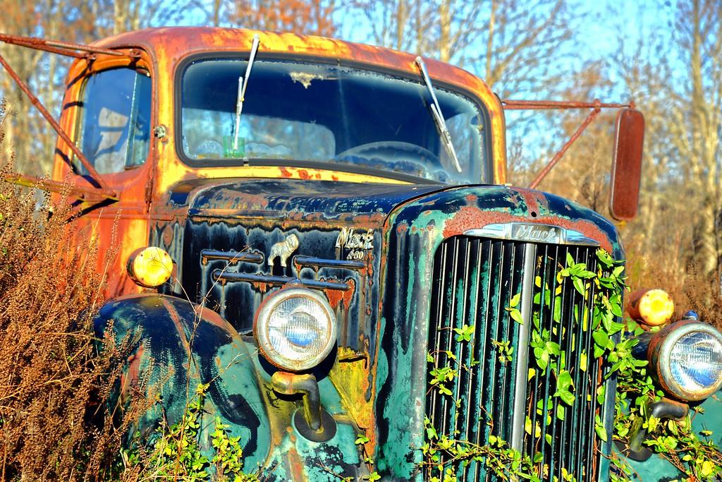 Old Mack Truck