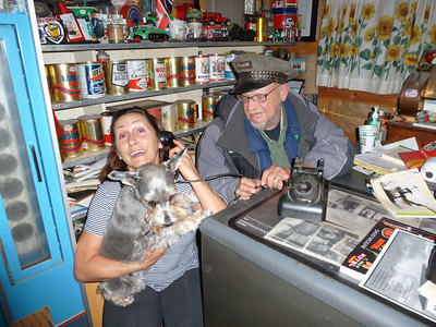 Gary and Kathy. Gary was the best person on Route 66. He is Route 66. Hope to see him again in the future when we travel Route 66 again.
