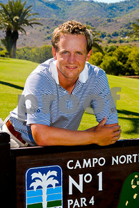 Luke Donald on La Manga Club's North Course, 9th September 2005