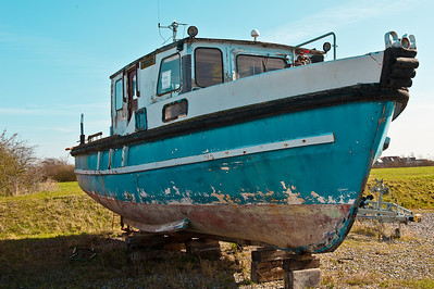 Boat at Burnham on Crouch