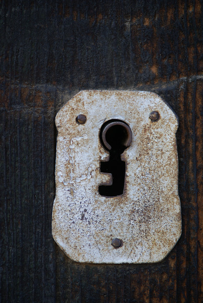Door lock in Ajijic, Mexico