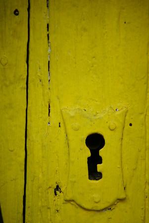 Door lock in Ajijic, Mexico