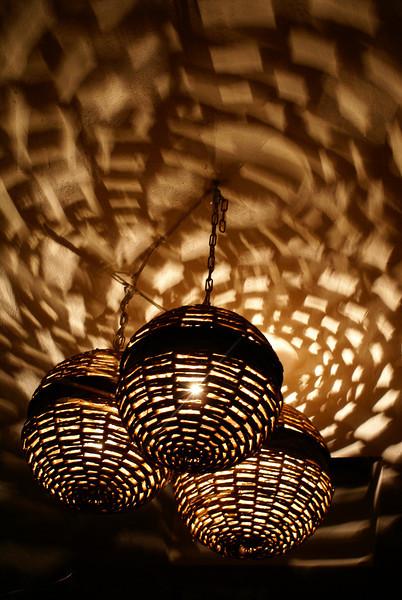 Lights in Restaurant, Ajijic, Mexico
