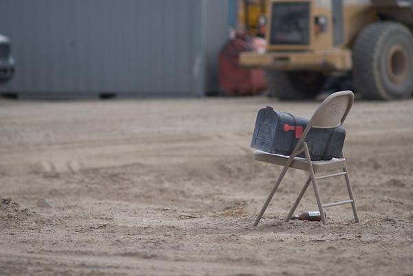 Nevada Desert Contruction Site