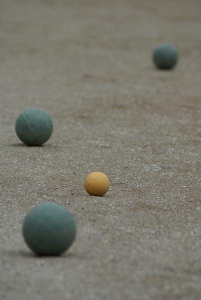 Bacci ball, Napa
