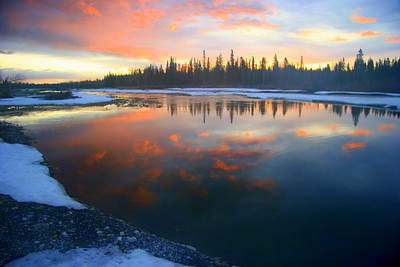 Clearwater River, near Rocky Mountain House