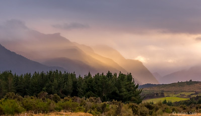 Early start to from Te Anau to Milford sound.  The lighting was amazing.  We had to catch our morning tour boat so could not stop too often to take pictures.