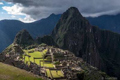 Machu Picchu site.  We were fortunate to get great lighting.