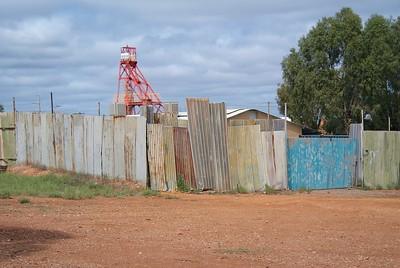 Kalgoorlie. Mining town colours, 2014