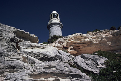 Rottnest Is. Lighthouse (Kodachrome, 1976)