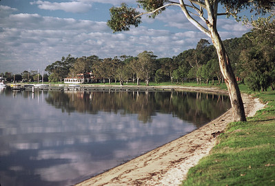 Swan River, Crawley, Kodachrome, 1976