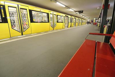 Berlin. Potsdamerplatz underground station 2013