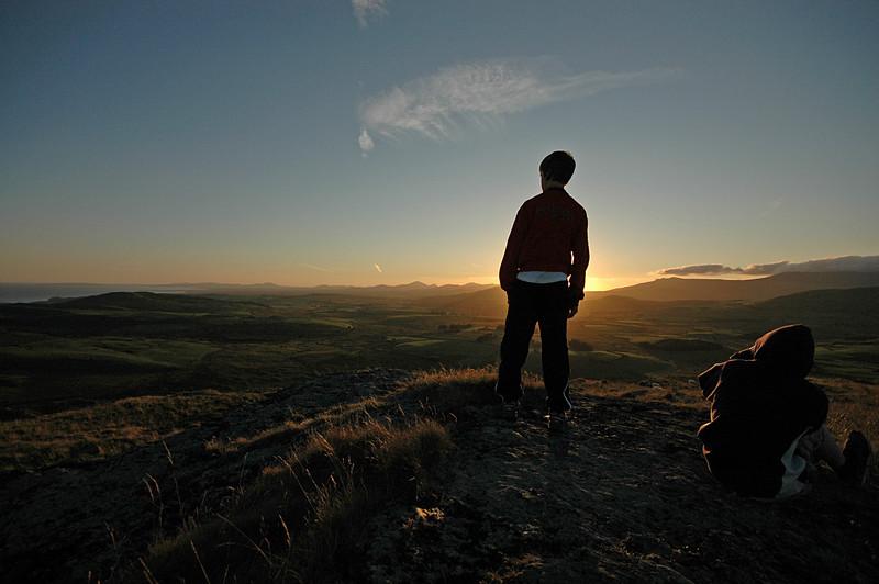 From Pant Engan, Snowdonia.