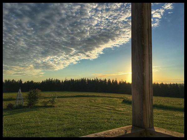 Dawn at Havenlea, PEI.
