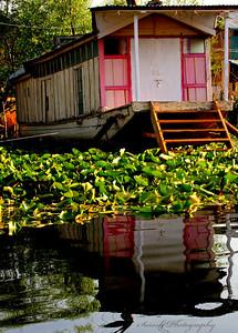 Houseboat on Dal Lake